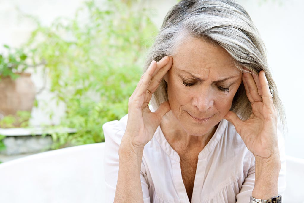 Image: A new study asserts that women who experience menopause earlier live shorter lives (Photo courtesy of Getty Images).