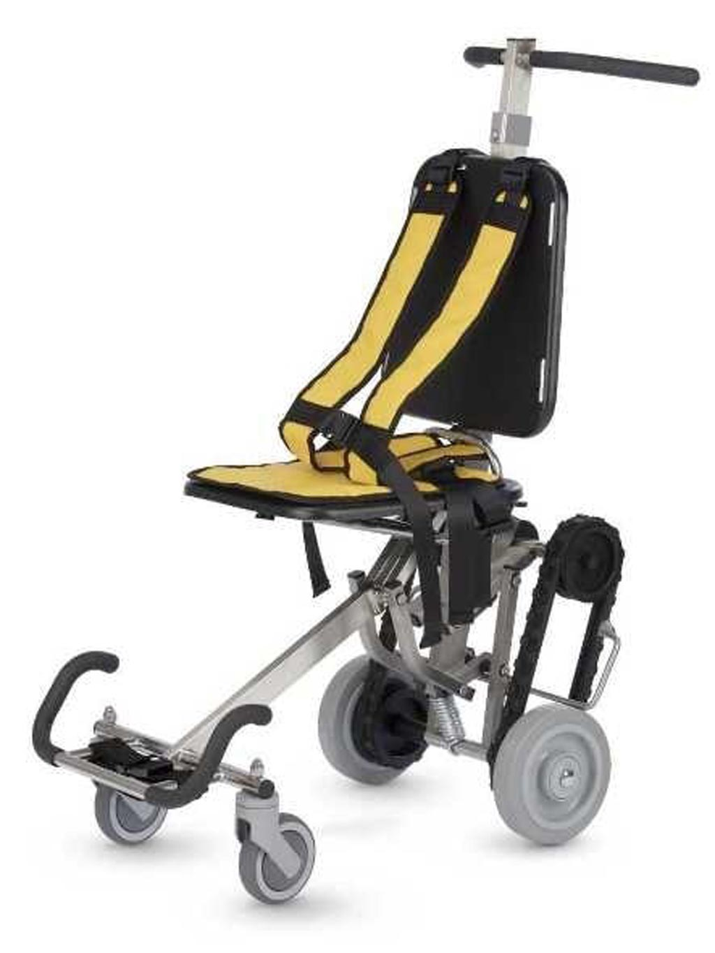 Image: The IBEX ambulance chair (Photo courtesy of ParAid Medical).