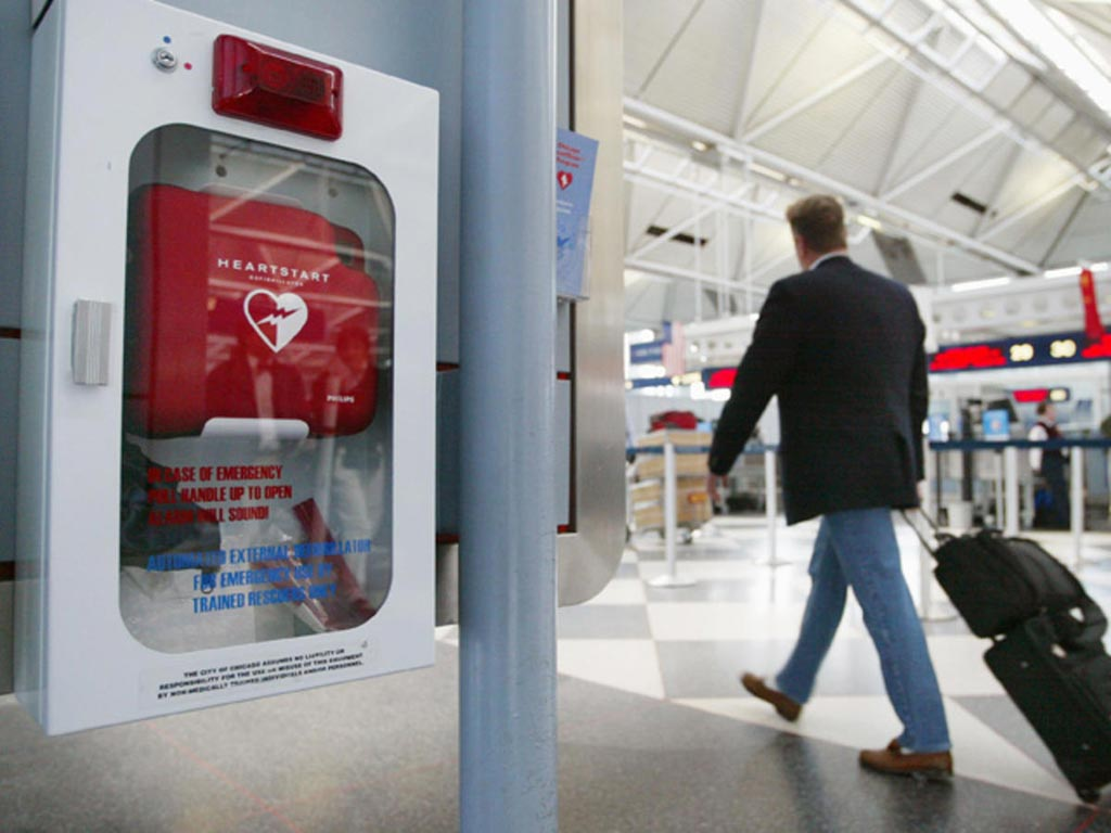 Image: A new study asserts that publicly accessible AEDs can increase heart attack survival (Photo courtesy of Getty Images).
