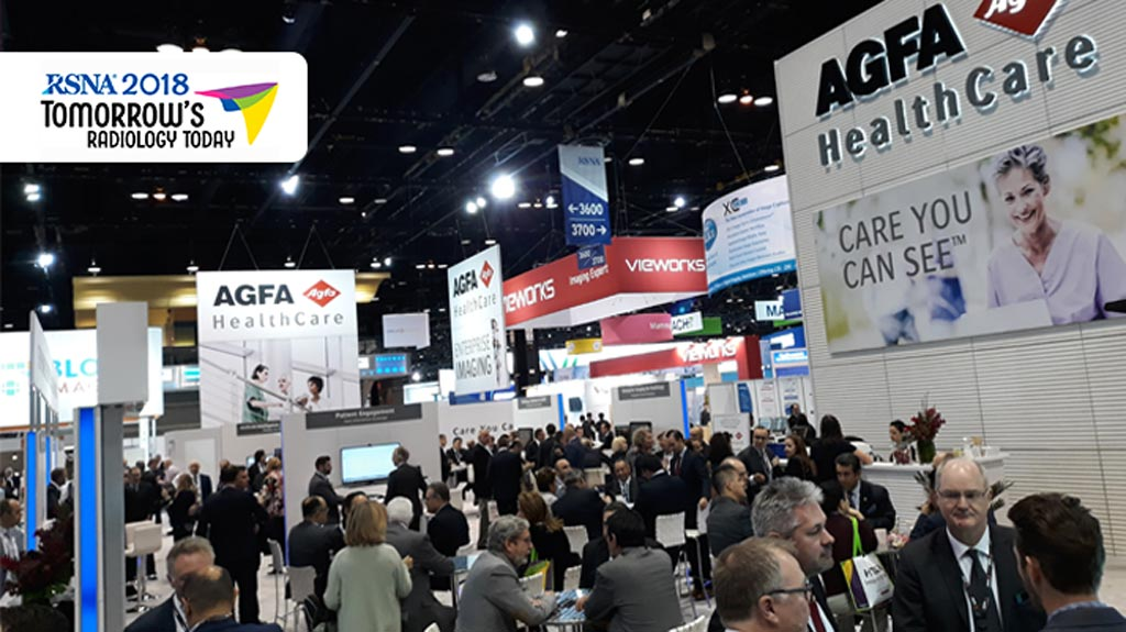 Image: Agfa-Gevaert NV demonstrated its purpose-built Enterprise Imaging platform with advanced clinical applications at RSNA 2018 (Photo courtesy of Agfa-Gevaert).