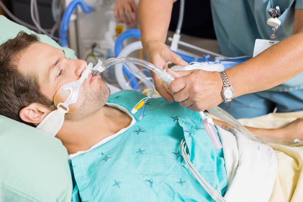 Image: A new study claims decontamination procedures are ineffective in ventilated ICU patients (Photo courtesy of Bigstock).