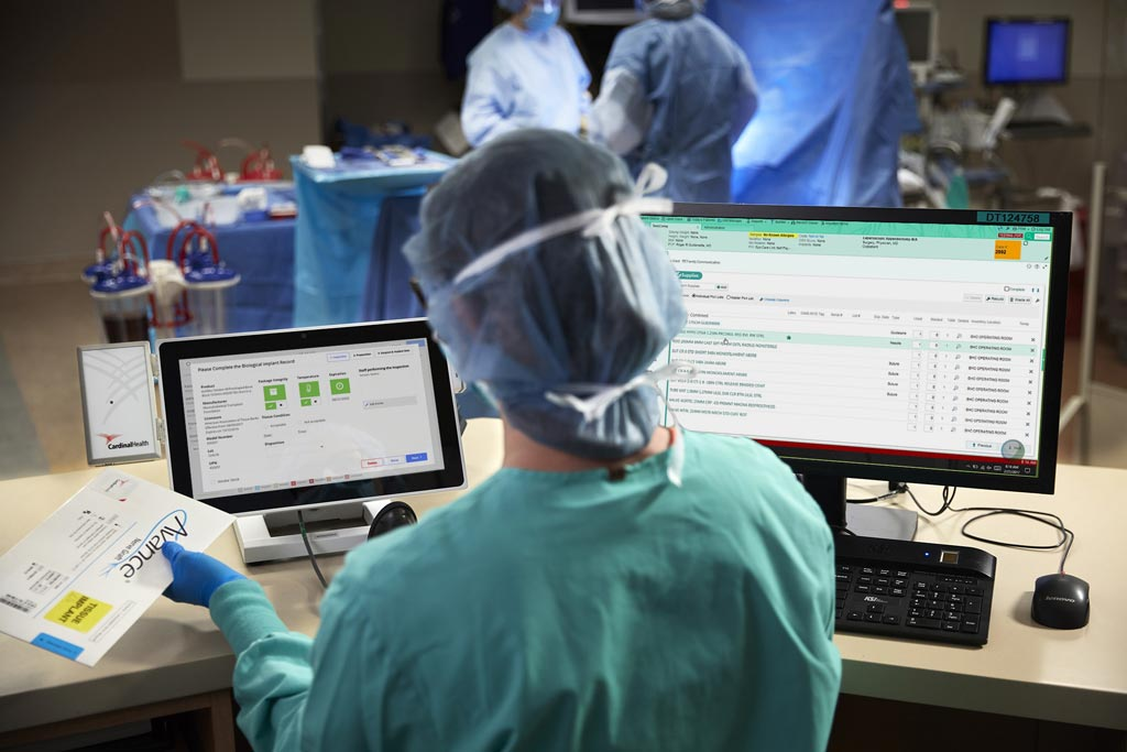 Image: A novel software platform helps maintain OR efficiencies (Photo courtesy of Cardinal Health).