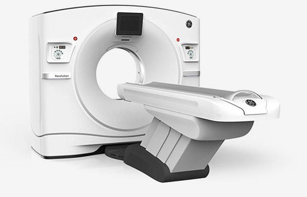 Image: The Revolution Frontier CT system (Photo courtesy of GE Healthcare).