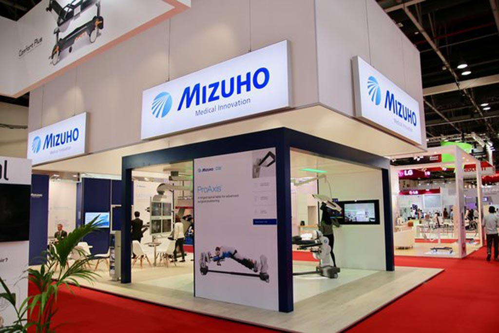 Image: The Mizuho Group showcased its complete OR at the Arab Health medical congress (Photo courtesy of Mizuho Group).