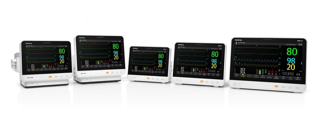 Image: The ePM range of mid-acuity patient monitors (Photo courtesy of Mindray).