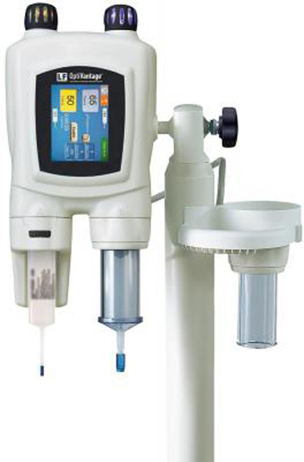 Image: The OptiVantage multi-use injector for CT diagnosis (Photo courtesy of Guerbet).