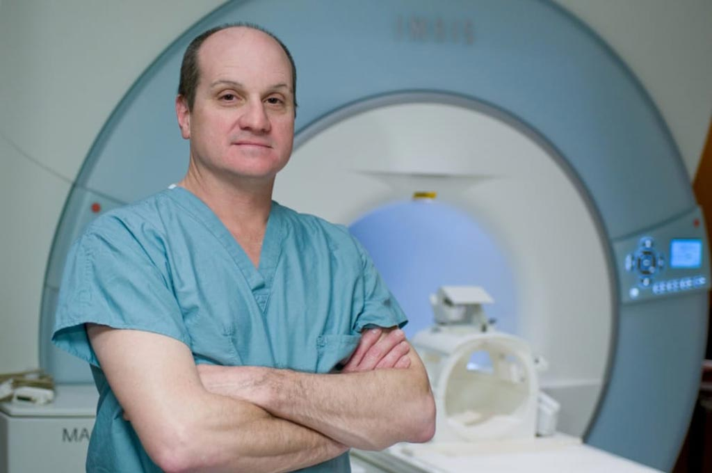 Image: Dr. Eric Walser recommends focal laser ablation of prostate cancer (Photo courtesy of UTMB).