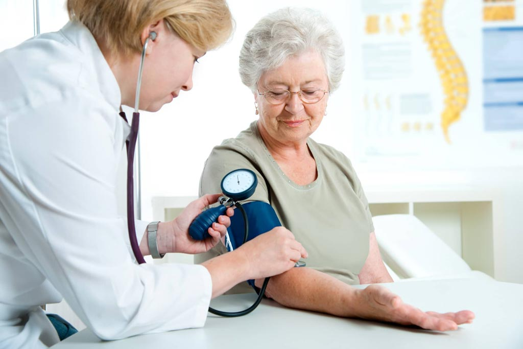 Image: New research claims that normalizing blood pressure in older people could place them at risk (Photo courtesy of Thinkstock).