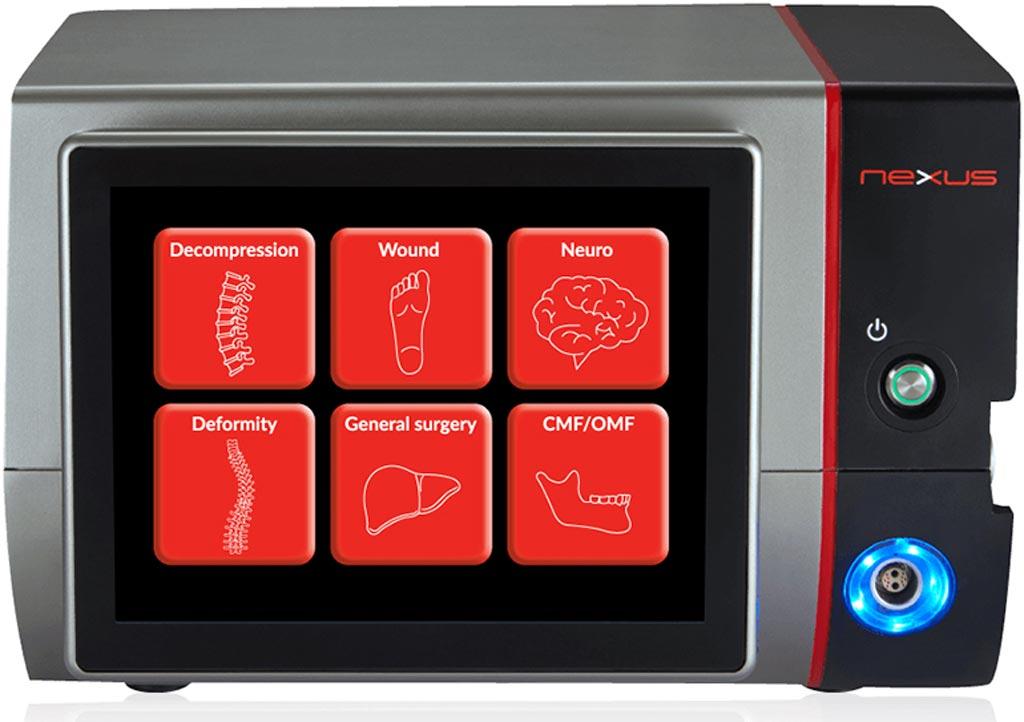 The Nexus integrated ultrasonic surgical platform (Photo courtesy of Misonix).