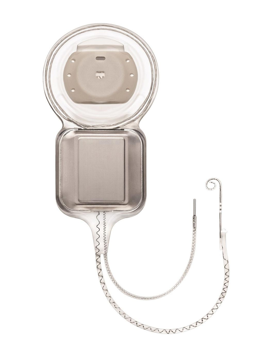 Image: The Nucleus Profile Plus Series cochlear implant (Photo courtesy of Cochlear).