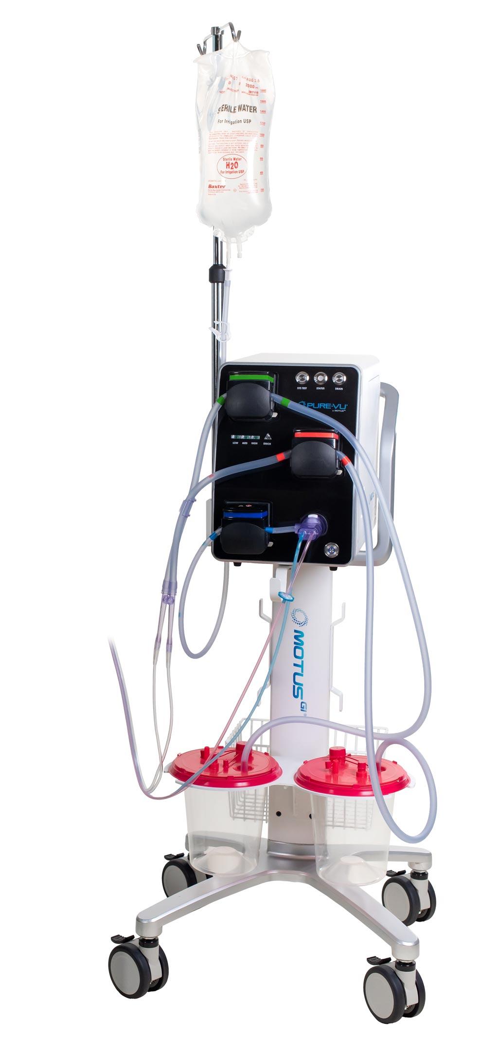Система очищения толстой кишки Pure-Vu GEN2 (фото любезно предоставлено Motus GI).