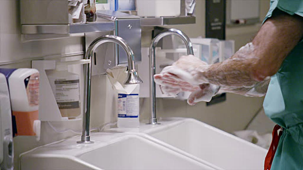 Hospital Sinks and Faucets Harbor Slime and Biofilm