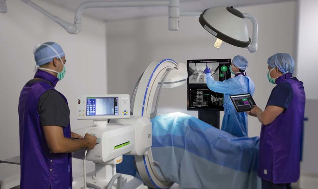 Image: An integrated technology system advances spine surgery (Photo courtesy of NuVasive).