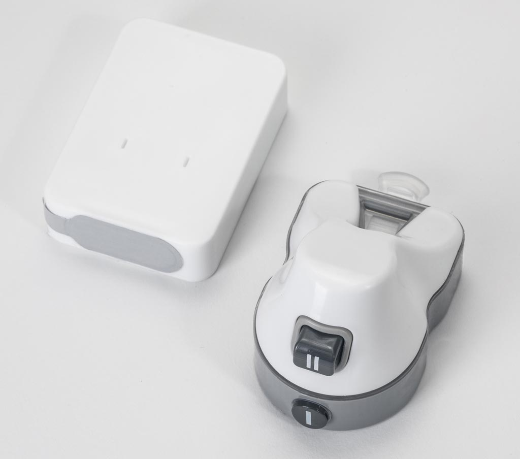 Image: The OneDraw A1C transport canister and blood draw device (Photo courtesy of Drawbridge Health).
