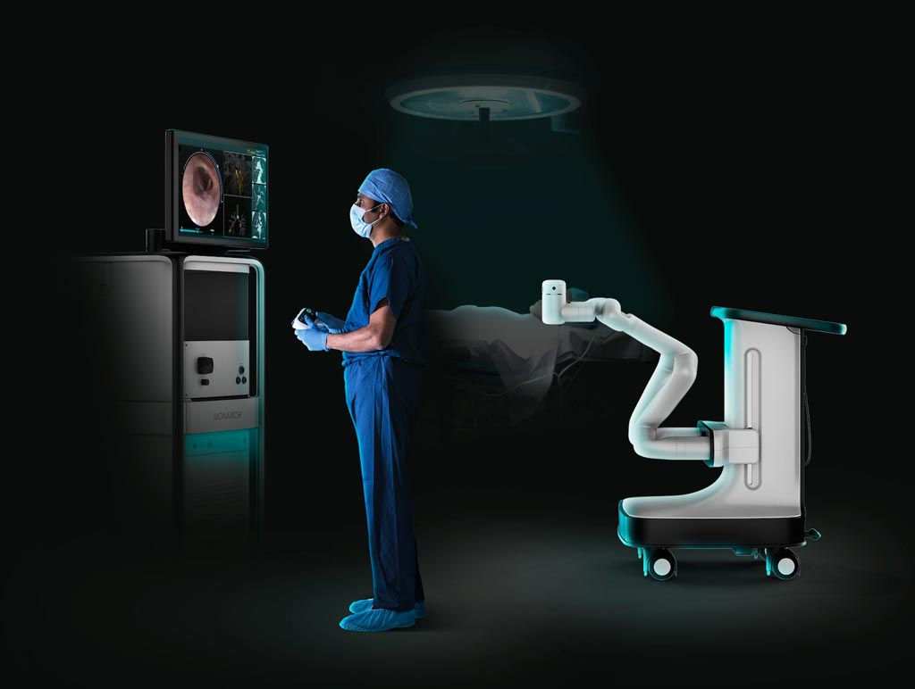 Image: A new study confirms that flexible robotics assist bronchoscopy (Photo courtesy of Auris Health).