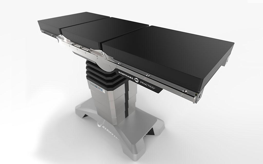Image: Operating table Smarter Practico (Photo courtesy of Merivaara)