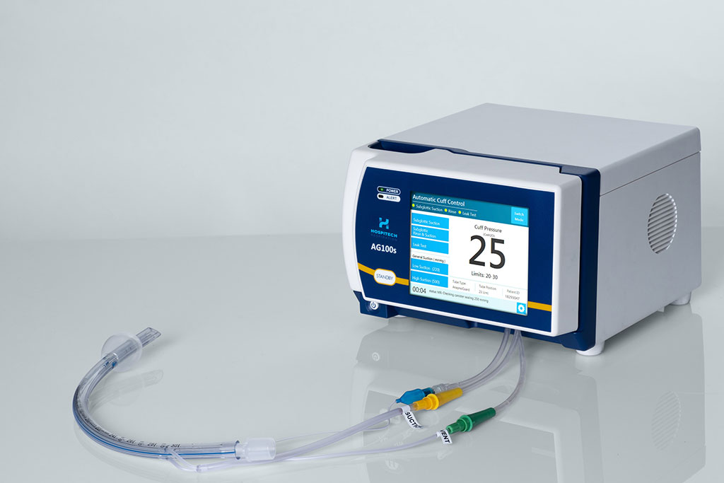 Image: The AnapnoGuard AG100s Control Unit and ETT (Photo courtesy of Hospitech Respiration)