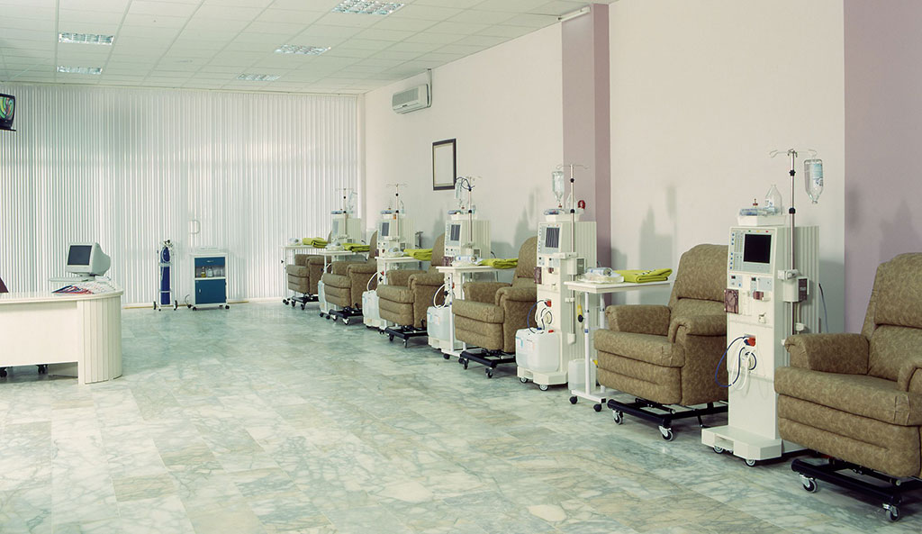 Image: A typical hemodialysis center (Photo courtesy of iStock)