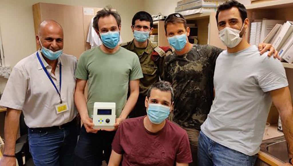Image: Researchers develop inexpensive disposable ventilator to treat COVID-19 patients (Photo courtesy of Tel Aviv University).