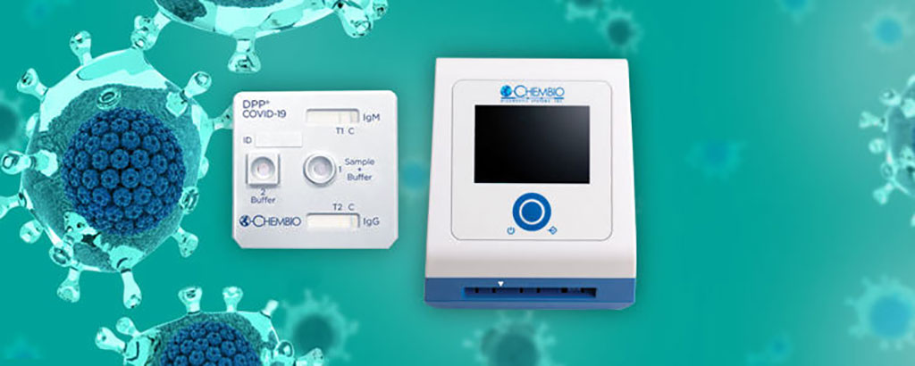 Image: The Chembio DPP platform (Photo courtesy of Chembio Diagnostics, Inc.)