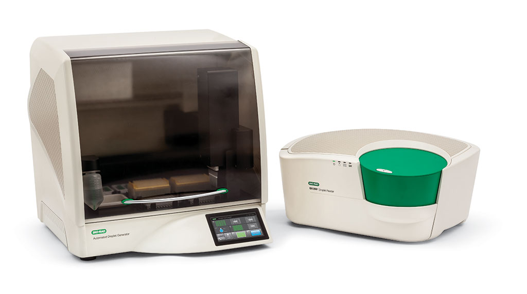 Image: BioRad QX200 Digital Droplet PCR System (Photo courtesy of Bio-Rad Laboratories, Inc.)