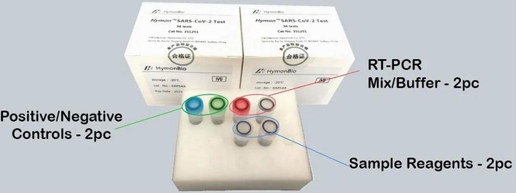 Image: Hymon SARS-CoV-2 Test Kit (Photo courtesy of SpectronRx)