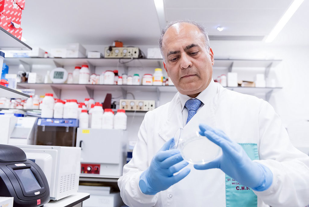 Image: Professor Sanjeev Krishna, Professor of Molecular Parasitology and Medicine, Infection and Immunity Research Institute St George`s (Photo courtesy of St George's, University of London)