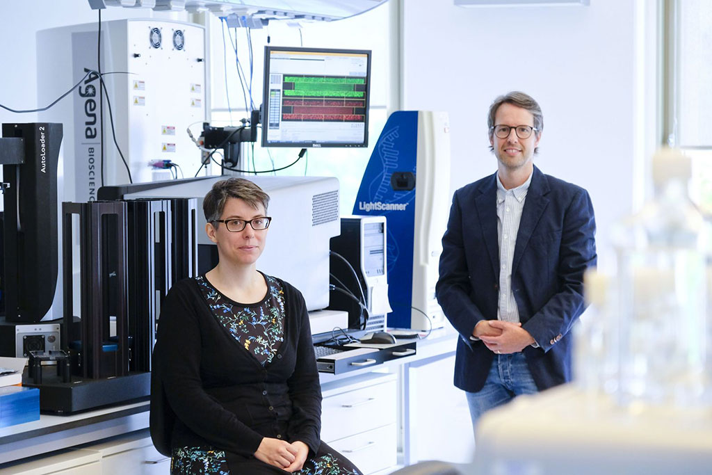 Image: Prof. Dr. David Ellinghaus and Frauke Degenhardt, both first authors of the study (Photo courtesy of UKSH Kiel)