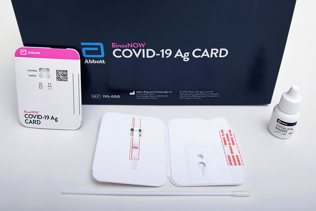 Abbott's USD 5, 15-Minute BinaxNOW COVID-19 Ag Card Becomes First  Diagnostic Test with Read-Result Test Card to Receive FDA EUA - COVID-19 -  Hospimedica.com