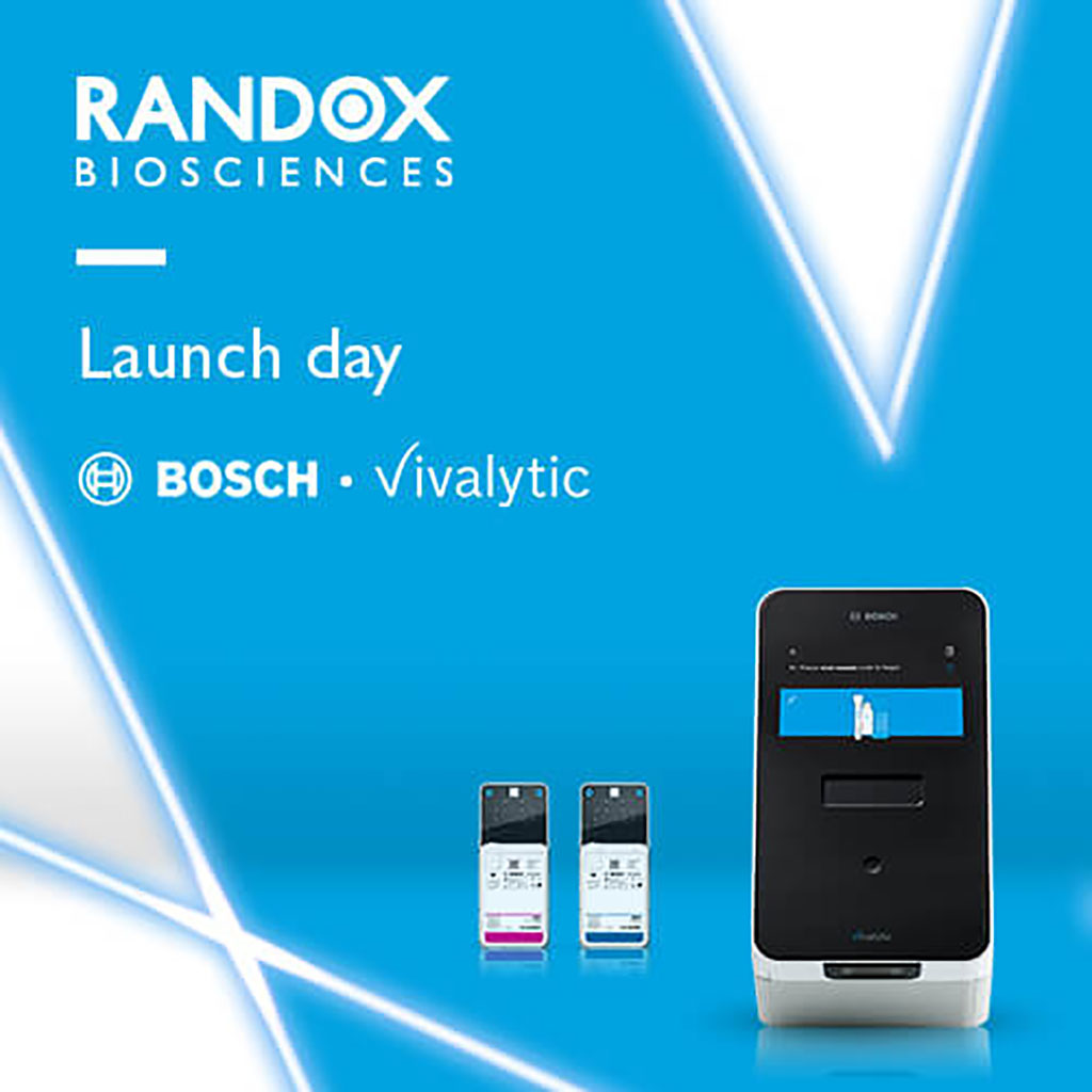 Image: Vivalytic SARS-CoV-2 rapid test (Photo courtesy of Randox Laboratories)