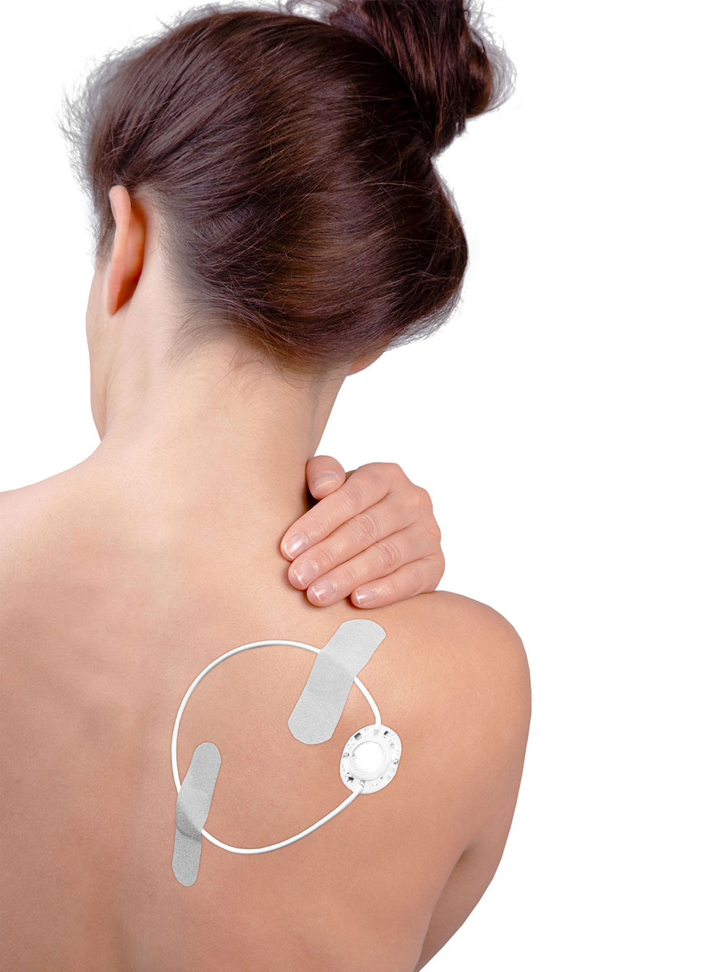 Image: Various types of pain can be treated using the ActiPatch device (Photo courtesy of BioElectronics)