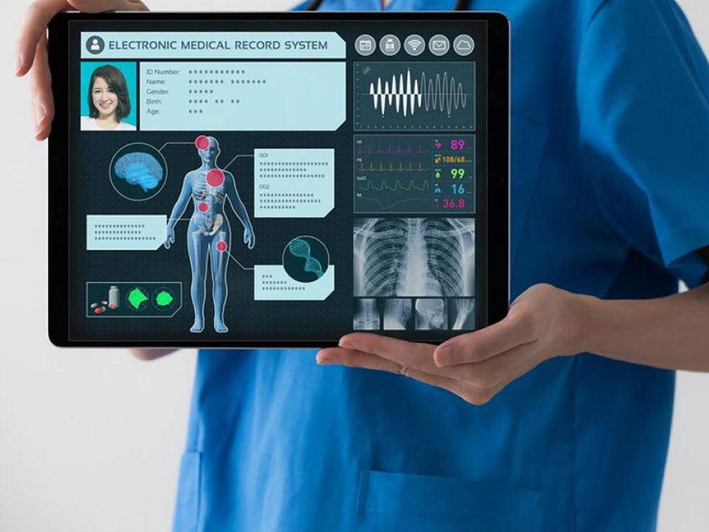 Image: Displaying a patients photograph on the HER reduces errors (Photo courtesy of iStock images)