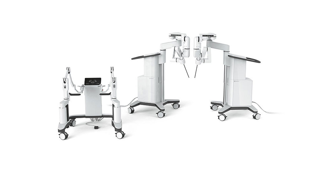 Image: The Dexter Surgical Robot assists laparoscopic procedures (Photo courtesy of Distalmotion)