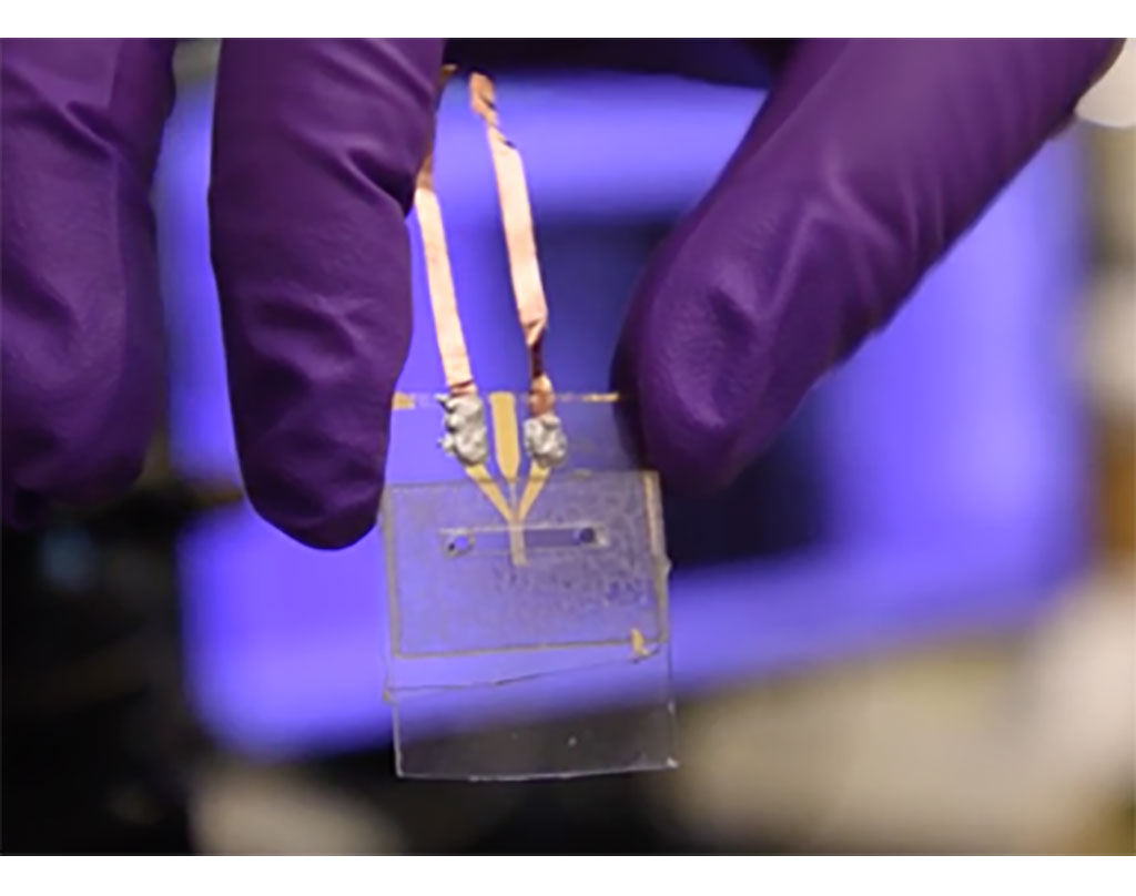 Image: Lab on a Chip Test Could Detect COVID-19 Immune Response Faster Than Current Antibody Testing (Photo courtesy of Southern Methodist University)