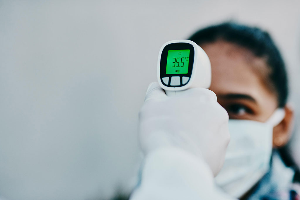 Image:  Measuring temperature using an IR gun is undependable (Photo courtesy of Getty Images)