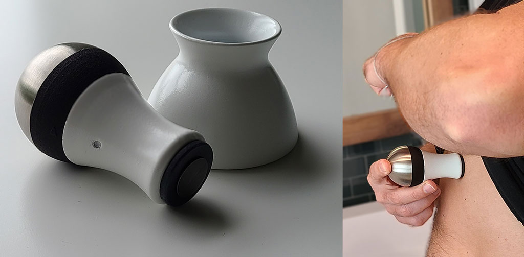 Image: The AUDICOR acoustic cardiography device (Photo courtesy of Inovise Medical)