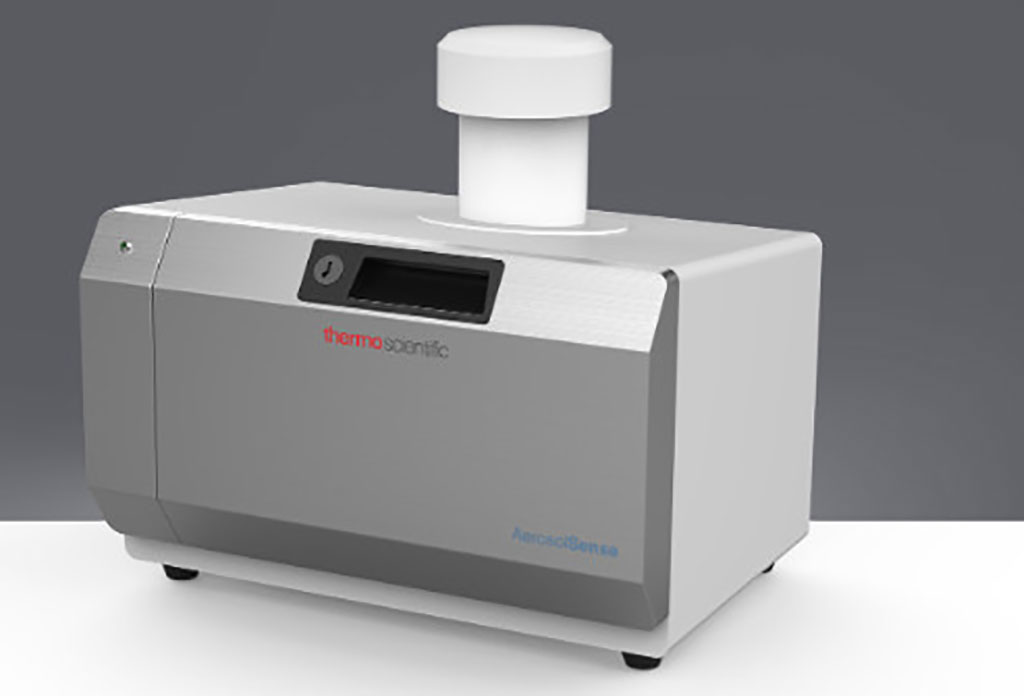 Image: AerosolSense Sampler (Photo courtesy of Thermo Fisher Scientific Inc.)