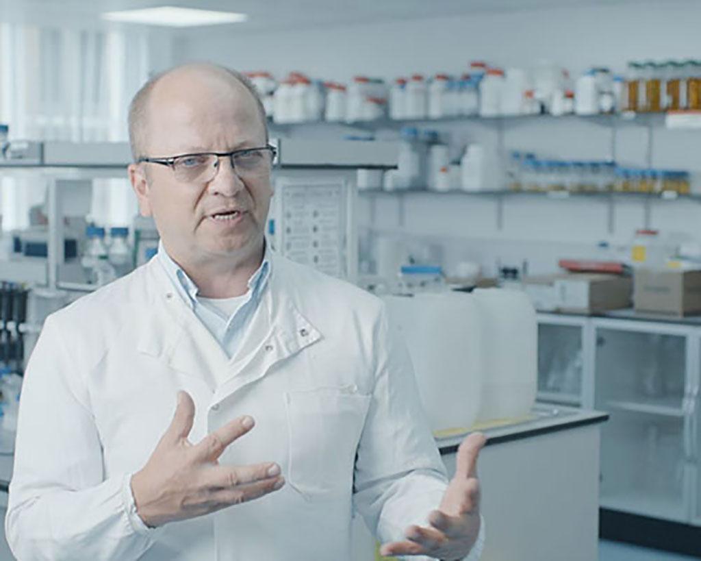 Image: Professor Imre Berger (Photo courtesy of University of Bristol)