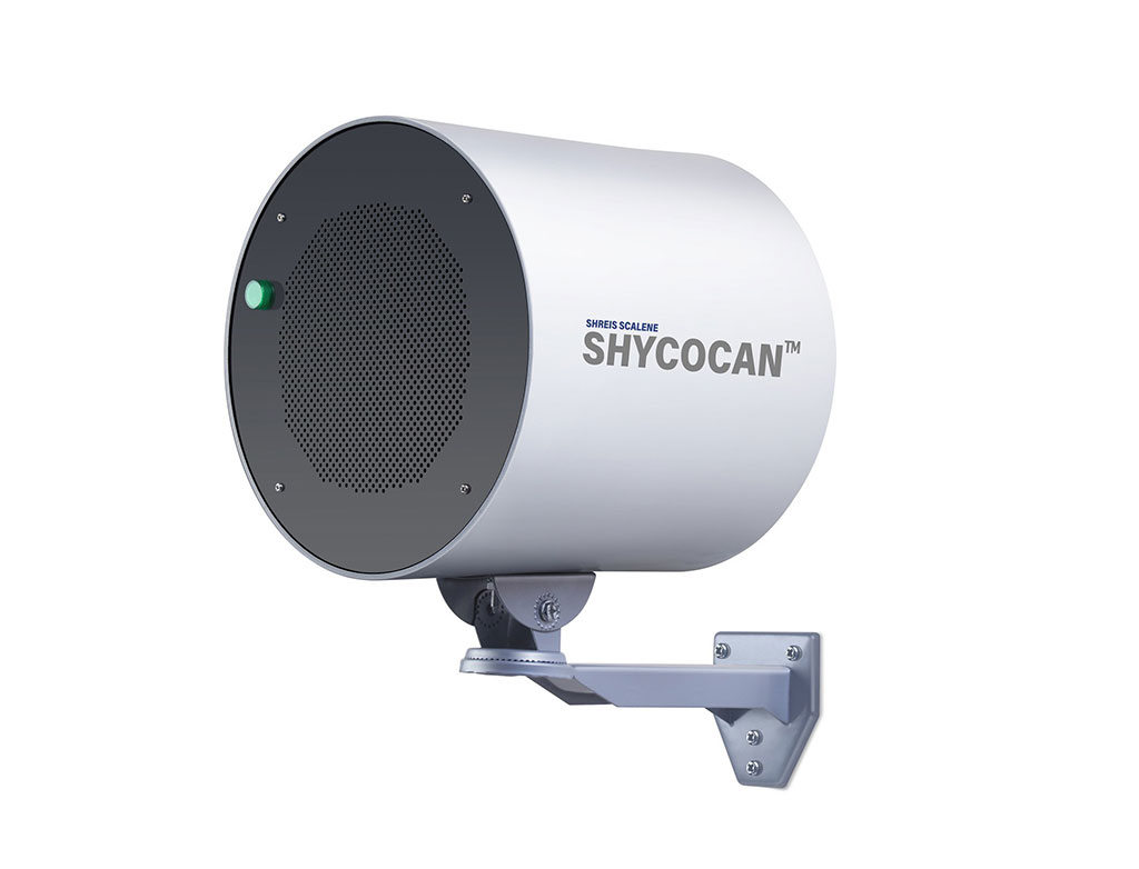 Image: The Shycocan device emits an electron stream to disrupt virus transmission (Photo courtesy of SSTx)