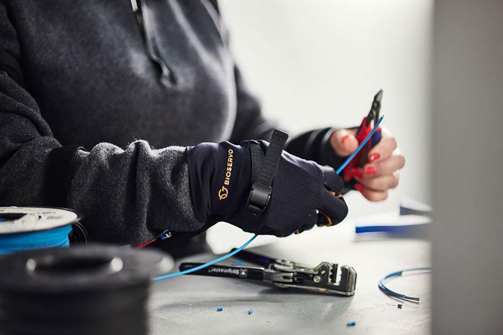 Image: The Ironhand 2.0 exoskeleton glove (Photo courtesy of Bioservo Technologies)