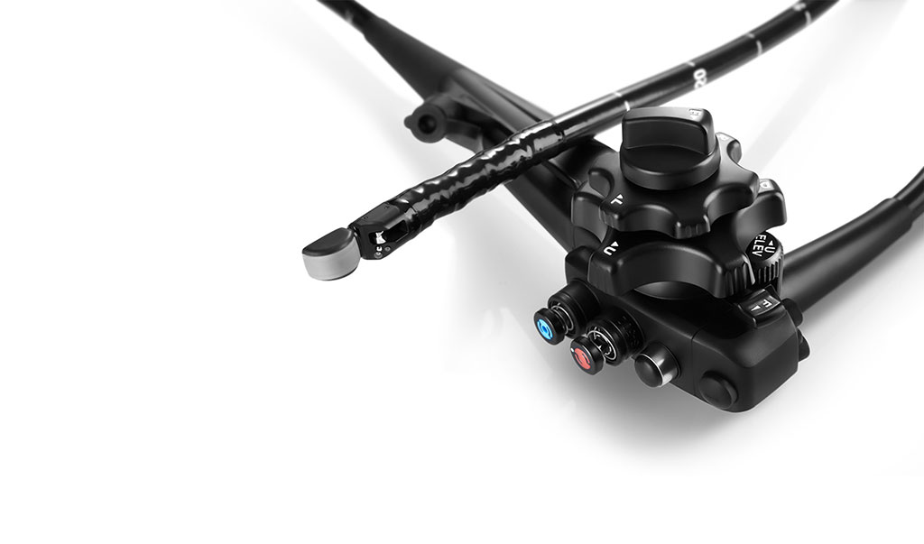 Image: The EG-UC5T advanced linear-array echoendoscope (Photo courtesy of SonoScape Medical)
