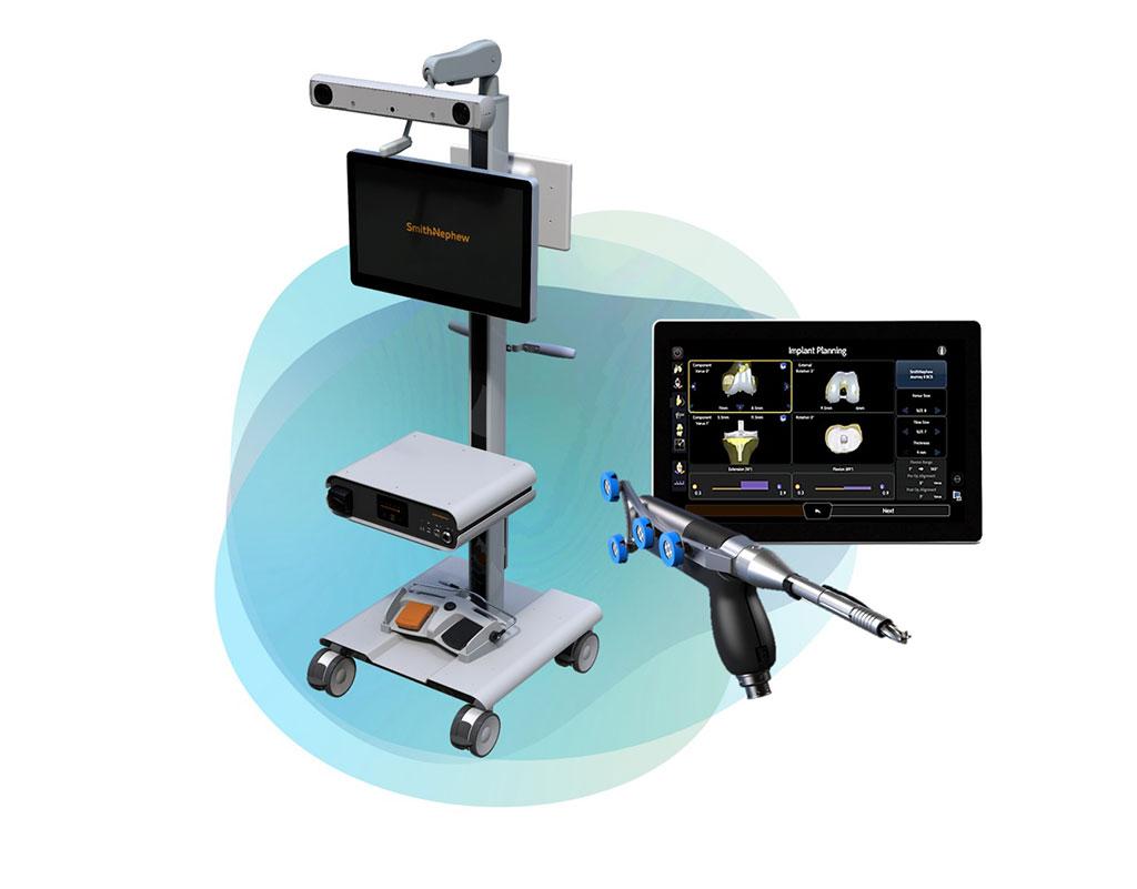 Image: The CORI Surgical System (Photo courtesy of Smith & Nephew)