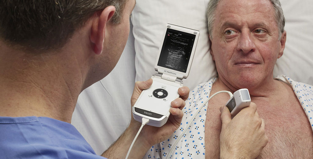Image: GE Healthcare Vscan (Photo courtesy of GE Healthcare)
