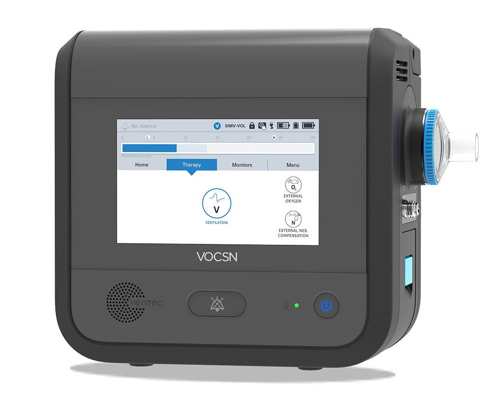 Image: The Ventec V+Pro Ventilator (Photo courtesy of Ventec Life Systems)
