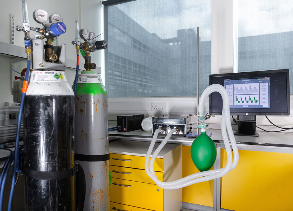 Image: Low cost emergency ventilator to tackle coronavirus designed by Imperial team (Photo courtesy of Imperial College London)