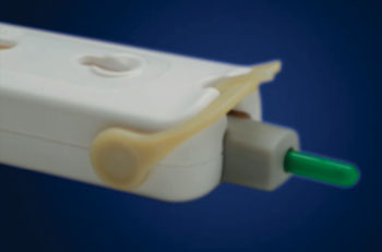 Image: The AtomoRapid lateral flow immunoassay diagnostic platform (Photo courtesy of Atomo Diagnostics).