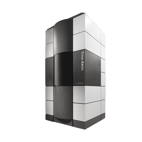 The Titan Krios cryo-electron microscope is designed for use in protein and cellular imaging applications (Photo courtesy of FEI).