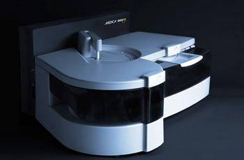 Image: The EasyRA benchtop chemistry analyzer (Photo courtesy of Medica).