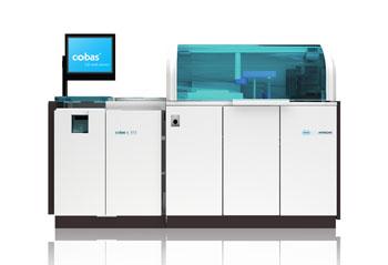 Image: The cobas c 513 high-throughput HbA1c analyzer (Photo courtesy of Roche).