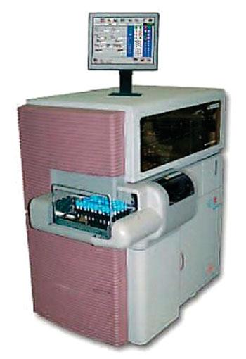 Image: The STA-R automatic coagulation analyzer (Photo courtesy of Diagnostica Stago).